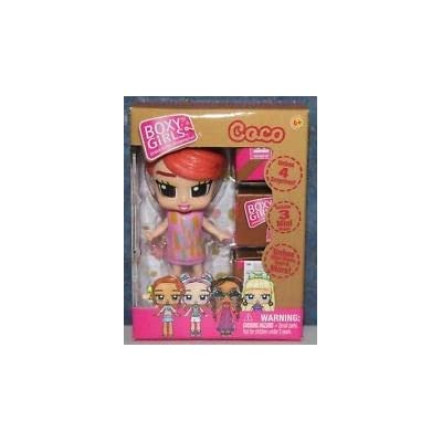 "Boxy Girl Coco Mini Doll 2.5"": Toys & Games"
