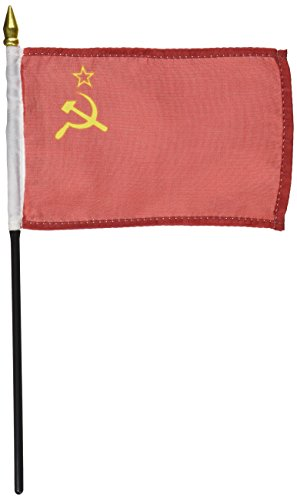 US Flag Store USSR Flag 4 x 6 inch