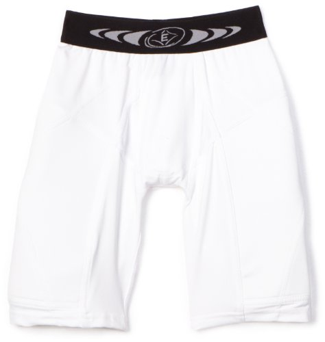 Easton Youth Extra Protective Sliding Short, White, Medium