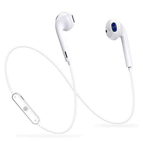 Bluetooth Headphones, Bluetooth Earbuds with Mic V4.1 Wireless Stereo Earbuds Earphones Noise Cancelling Sweatproof Sports Bluetooth Headset for Samsung Galaxy S8/S9 Note 8 Cell Phones