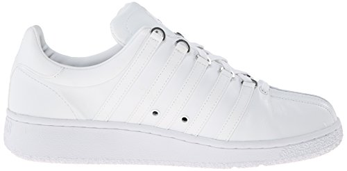 K-swiss Mens Classic Vn Fashion Sneaker Bianco / Bianco