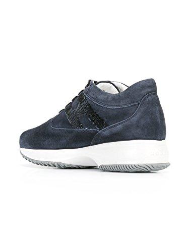 Hogan Sneakers Donna HXW00N05641CR09992 Camoscio Blu