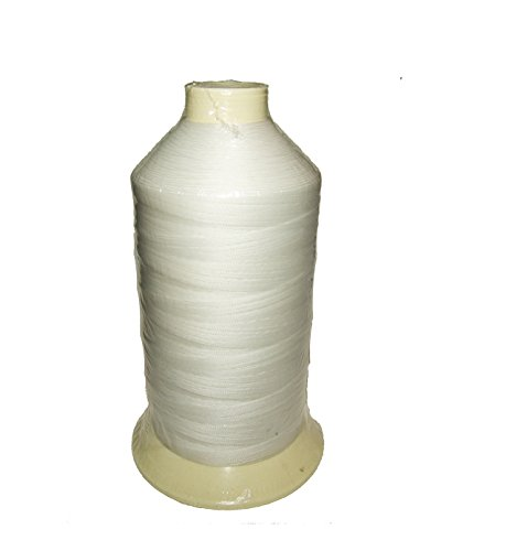 (Polyester Thread, Coats Bonded Polyester Thread-16 oz. Spools White - Size DB-138, 2913 Yards)