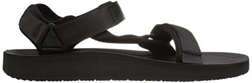 Mens Teva M Originale Sandalo Premier Universale Schwarz (nero)