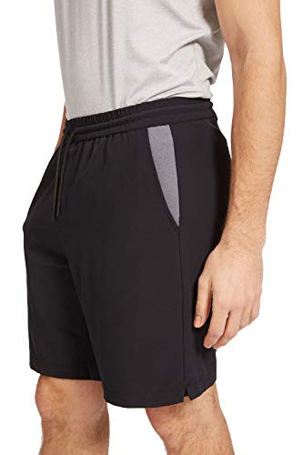 OHMME - Yoga and Pilates Workout Apparel for Men - Eco Warrior II Green Defence Shorts