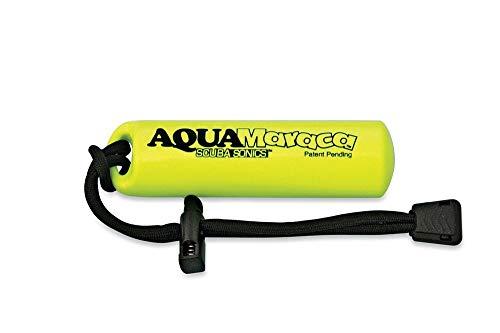 - Trident AquaMaraca Scuba Diving Underwater Noise Signal Device-Yellow