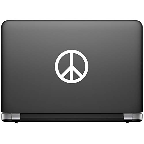 Peace Sign Vinyl Stickers - 3