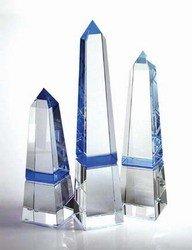 - Blue Obelisk Crystal Award - Medium