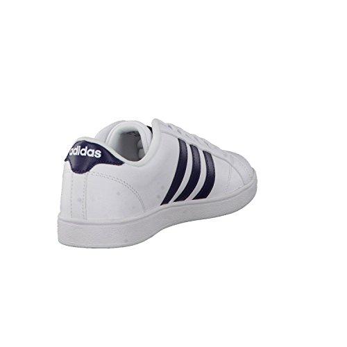 adidas Herren Baseline Fitnessschuhe, 43 EU Varios colores (Blanco (Ftwbla / Maruni / Ftwbla))