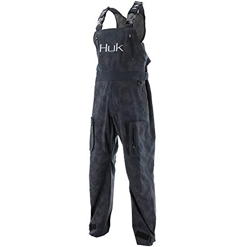 HUK Leviathan Men's Rain Bib- Black, Xtra-Large for sale  Delivered anywhere in USA