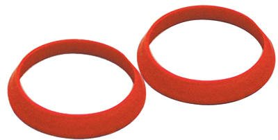 Keeney Rubber Slip Joint Washers, Red