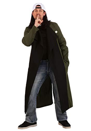 Silent Bob Costume (Silent Bob Plus Size Mens Costume)