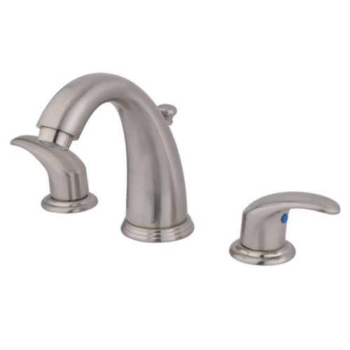 Kingston Brass KB988LL Victorian Widespread Lavatory Faucet with Metal lever handle, Satin Nickel by Kingston Brass (Image #2)