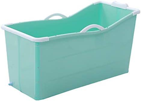 バスバレル槽バレル大人のホーム全身大浴場バレル大人の浴槽の浴槽入浴バレルアーティファクト (Color : Blue)