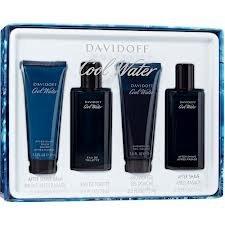 Zino Davidoff Cool Water 4 Piece Gift Set for Men (Davidoff Cool Water For Men Gift Set)