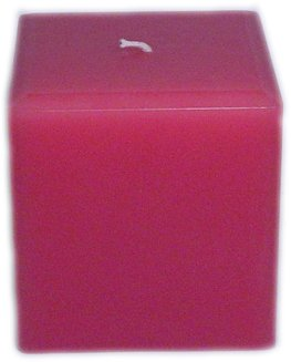 (Trinity Candle Factory -French Rose - Pillar Candle - Square - 4x4)