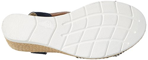 Navy Cheville 2720705 Bleu Sandales Femme Bride Supremo nxqSY4AwA