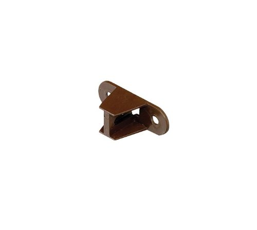 BLACK 2 x Marley Square Guttering Pipe Clips RCE2b with Backplate and nut//bolt RCB300 for 65mm Square Downpipe