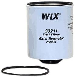 33217 Heavy Duty Spin On Fuel Water Separator Pack of 1 WIX Filters