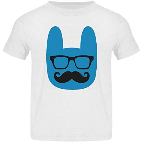Customized Girl Cute Easter Toddler Hipster Tee: Basic Jerse