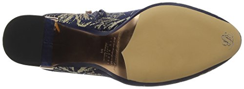 Ted Baker Ladies Ishbel Text Af Stardust Short Boots Multicolore (stardust)
