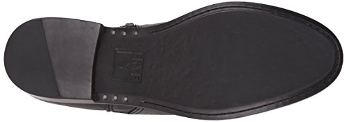 FRYE Womens Anna Gore Tall Buffalo Leather Riding Boot Black-74653 5lpQcbC