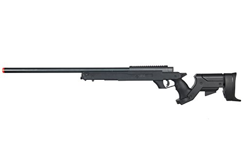 Well Full Metal MBG22 Gas Sniper Rifle Airsoft Gun (Black)