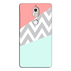 Cover It Up - Jagged Pastel Nokia 7Hard Case