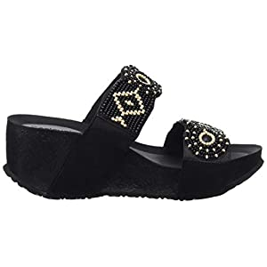Desigual Shoes (Cycle_Beads Bn), Sandali con Zeppa Donna
