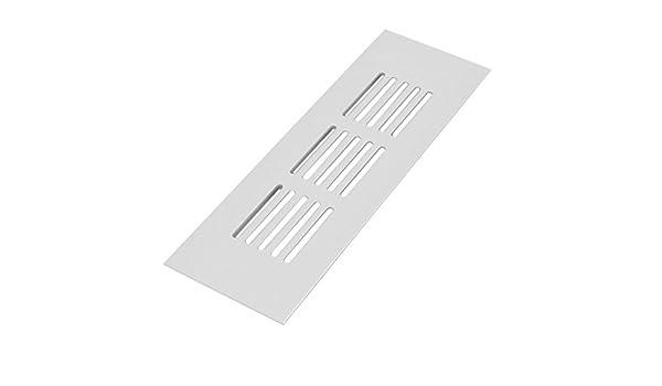 eDealMax Armario Gabinete 150mmx50mmx9mm aleación de aluminio Salida de aire Rejilla de ventilación - - Amazon.com