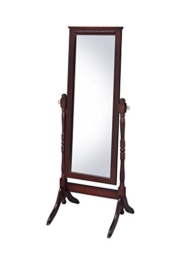 Proman Products CV17004 Fairfax Cheval Mirror, Walnut