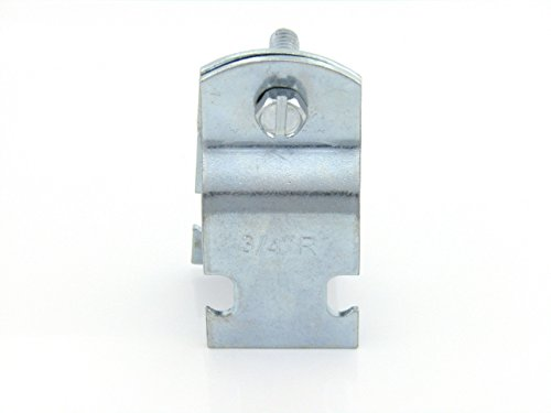 3/4in STD Pipe & Rigid Conduit Clamp; Zinc (100 per box)