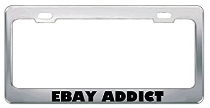 THERE/'S NO PLACE LIKE 127 0 0 1 GEEK License Plate Frame Tag Holder Border