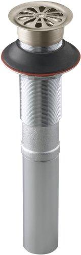 (KOHLER K-7129-BV Lavatory Grid Drain without Overflow, Vibrant Brushed Bronze)