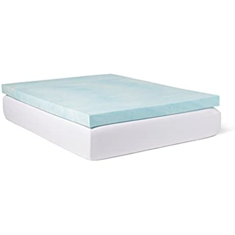 Slumber Solutions Choose Your Comfort 4 Inch Gel Memory Foam Mattress Topper King