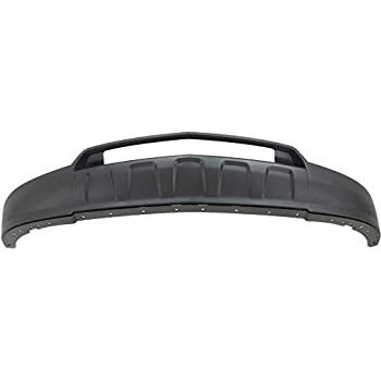 Front Lower BUMPER COVER Textured for 2012-2015 Chevrolet Equinox