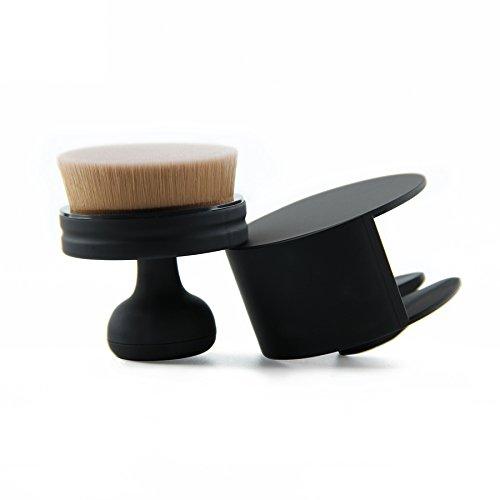iwode Fashion Rapidas sello maquillaje cepillo crema 5grados pendiente O-Type Fundación Brush