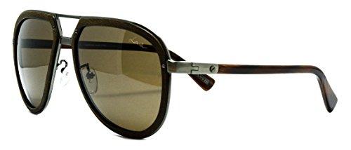 Lanvin wood sunglasses SLN 044 col. - Lanvin Mens Sunglasses