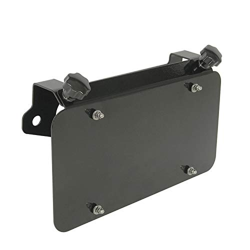 EAG Universal Stainless Steel License Plate Mount for Aluminum Hawse Fairlead