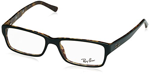 0090ec44db Ray-Ban Men s 0rx5169 No Polarization Rectangular Prescription Eyewear Frame