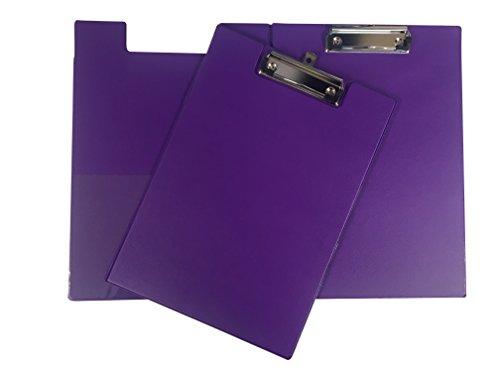 Janrax A4 Purple PVC Foldover Clipboard