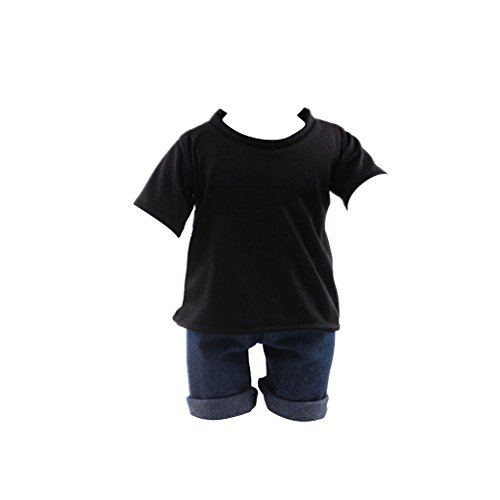 magideal-casual-black-t-shirt-jeans-clothes-set-for-18-inch-american-girl-doll