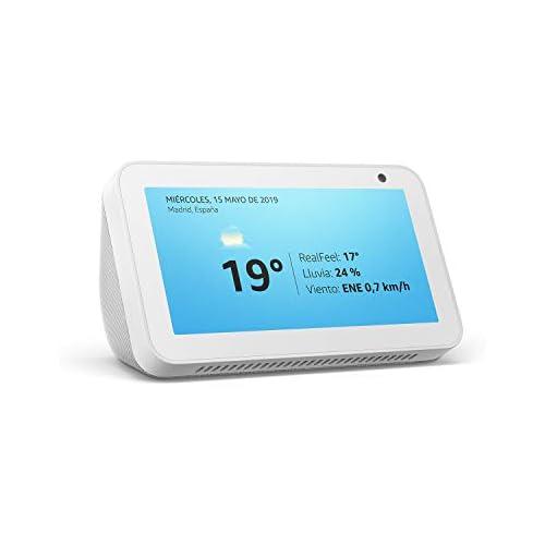 chollos oferta descuentos barato Echo Show 5 reacondicionado certificado una pantalla inteligente y compacta con Alexa blanco