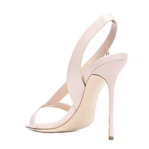 Boucle Fête Sandales De Mariage Lucky Chaussures 5 Chaussures Femmes Ouverts Cm Stiletto Dames a forme Clover Haut Talon 0 Or Blanc white Crossover eu37 Plate PwEzxwvq7r