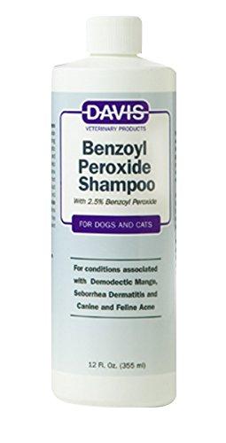 Dog Pet Shampoo (Davis Benzoyl Peroxide Pet Shampoo,)