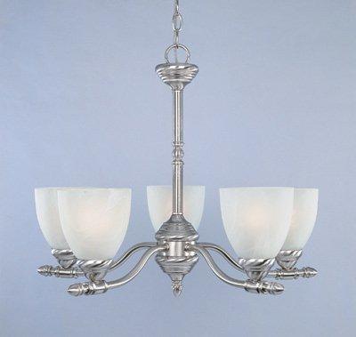 (Designers Fountain 94085-ORB Apollo 5 Light Chandelier, 23.75