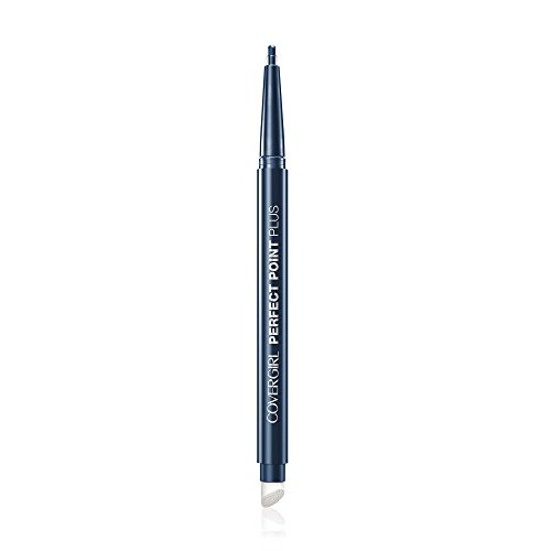 COVERGIRL Perfect Point PLUS Eyeliner Pencil,  Midnight Blue .008 oz. (230 mg) (Packaging may vary)