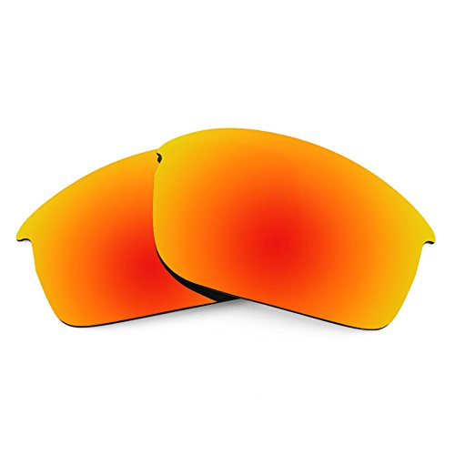 Revant Polarized Replacement Lenses for Oakley Bottlecap XLFire Red MirrorShield