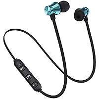 Bluetooth Kulaklık Mikrofonlu Iphone Samsung Huawei Xiaomi Uyumlu Kablosuz Kulaklık (MAVİ)