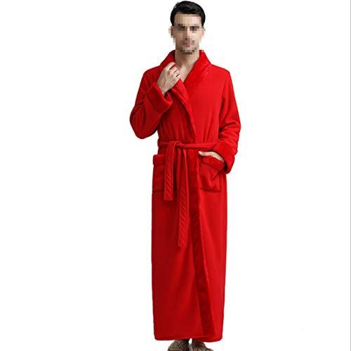 Para Abrigo Manga Damas 06 Dormir De Ropa Noche Mujeres xl Vestido M Suave Larga Mifusanahorn Bqna0Fxfzw